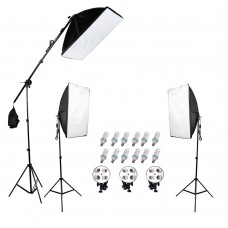 Continuous SoftBox Lighting Kit Jo-10