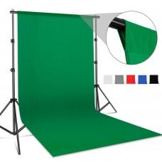 backdrop Stand 2x2m & muslin backdrops 3x2m Jo-1