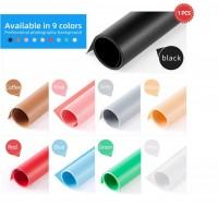 Solid Color PVC Background Paper 130x68cm 1PCS