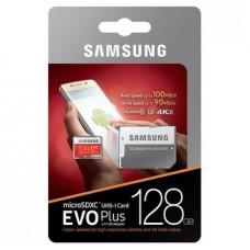 Samsung EVO Plus 128GB MicroSDXC with SD Adapter