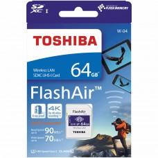TOSHIBA FlashAir W-04 Wireless SD Card 64GB