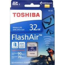 TOSHIBA FlashAir W-04 Wireless SD Card 32GB