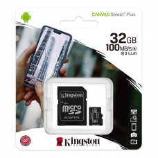 Kingston Canvas Select Plus microSD Card 32GB with SD adapter