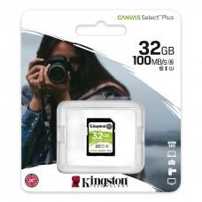 Kingston 32GB Canvas Select Plus UHS-I SDHC Memory Card