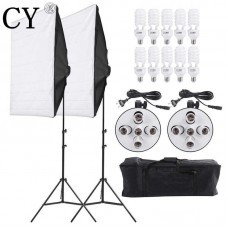 Continuous SoftBox Lighting Five Socket Kit