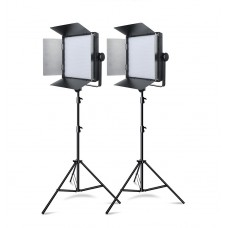 Godox LED1000W Daylight LED Video Light x2 Kit