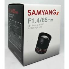 Samyang 85 mm F1.4 Lens AS IF UMC for Sony