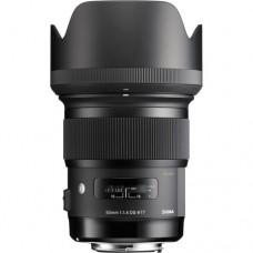Sigma Art Lens 50mm F/1.4 DG HSM Full frame for Nikon