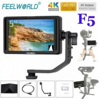FeelWorld F5 5.0 Inch Camera Monitor with 4K Support