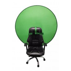 Portable Round Background Green Color 142cm with Bag