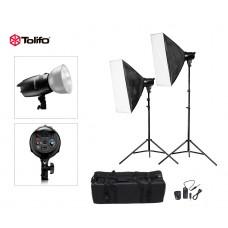 Tolifo EG-180B Studio Strobe Photo Flash Light Kit