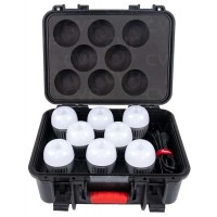 Aputure Accent B7C RGBWW LED 8-Light Kit with Charging Case