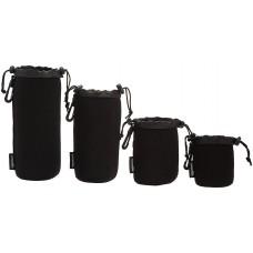 AmazonBasics Camera Lens Bag - Water Resistant