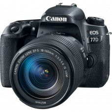 CANON EOS 77D with 18-135 IS USM