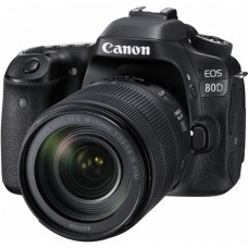 CANON EOS 80D with 18-135 IS USM