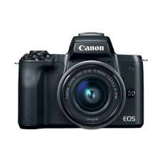 Canon EOS M50 with 15-45mm STM Kit