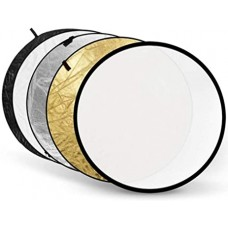 110cm 5-in-1 Portable Collapsible Reflector