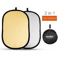 Godox 2-in-1 Portable Collapsible Reflector 150x200cm