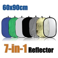 60x90cm 7-in-1 Portable Collapsible Reflector