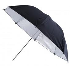 Black-silver umbrella