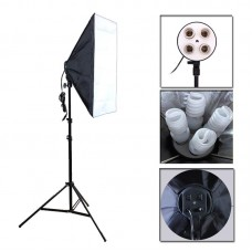 Continuous SoftBox Lighting Four Socket