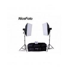 NiceFoto 180 Studio Strobe Photo Flash Light Kit