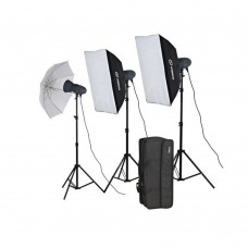 Visico 900ws studio light kit 3x300ws