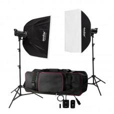 Godox DE300 300W Studio Flash Light Strobe Kit