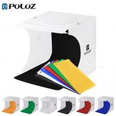 Puluz Studio LED Light Box 24 x 23 x 22 cm With 6 Backdrops