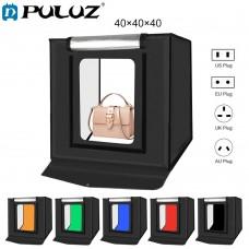 Puluz Studio LED Light Box 40 x 40cm With 6 Backdrops
